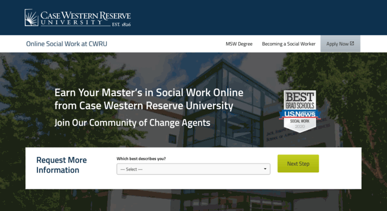 Social Work Degree Online >> Access Socialworkdegree Case Edu Online Master S In Social