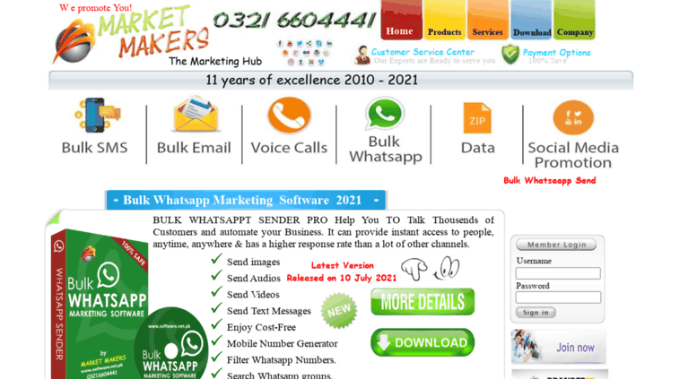 Access software net pk  sms Marketing Software, Email