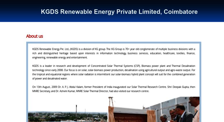 Access solar kgisl com  Solar Thermal Power Plant, Solar