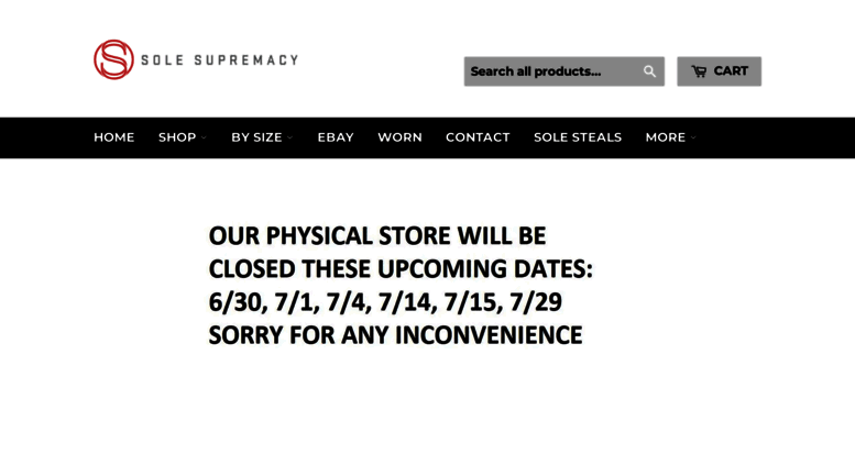3152f3fa78b6f Access solesupremacy.com. Buy Sell Trade Authentic Shoes