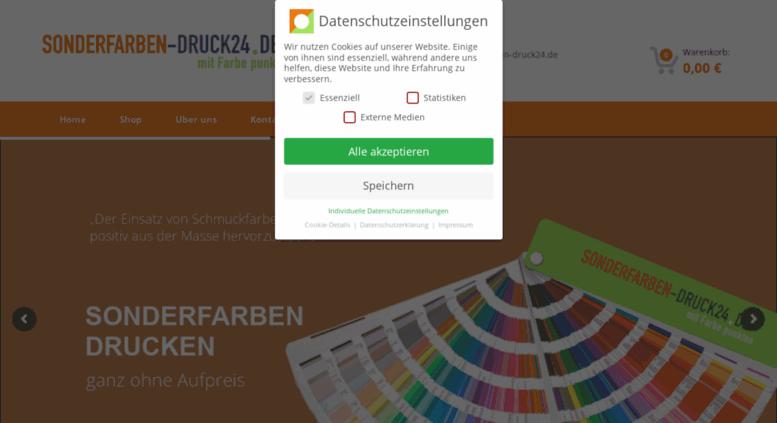 Access Sonderfarben Druck24 De Sonderfarben Druck 24 In