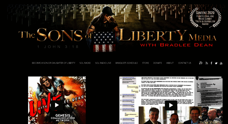 Access Sonsoflibertymediacom Sons Of Liberty Media Liberty