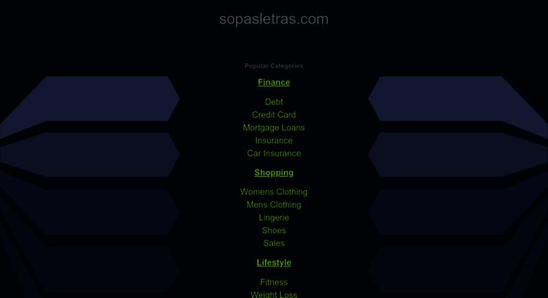 Access Sopasletras Com Sopas De Letras Gratis Y Online
