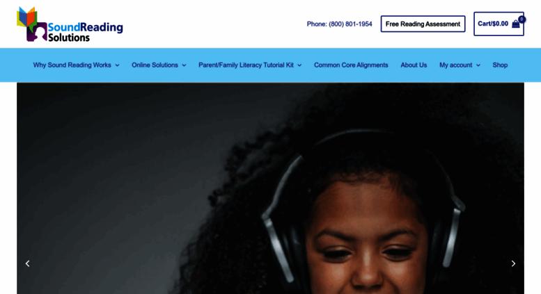 Access soundreading.com. Reading Comprehension Programs   Literacy ...