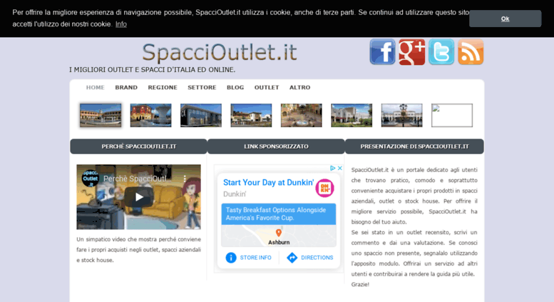 Access spaccioutlet.it. spaccioutlet.it - I migliori Outlet ...