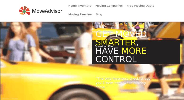 Access spark moveadvisor com  MoveAdvisor: Movers, Home