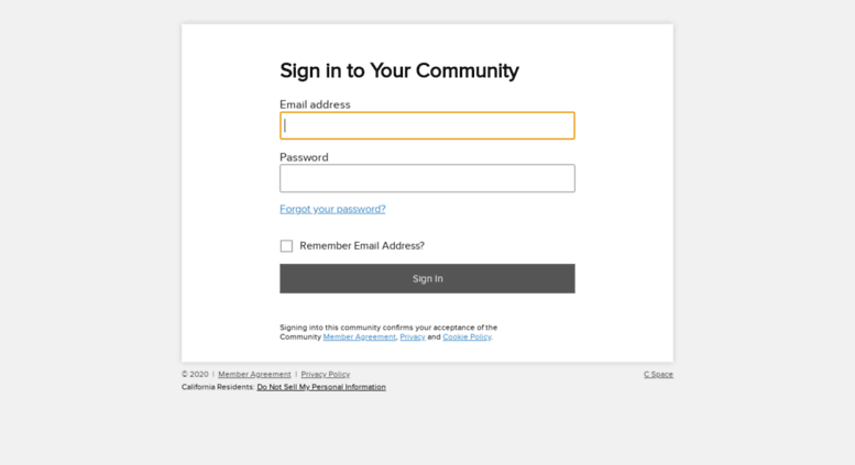 Access spectrum cspace com  Sign in to Your Community