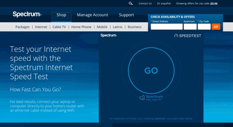spectrum internet español