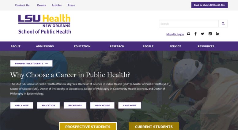 Access sph lsuhsc edu  Home - Public Health