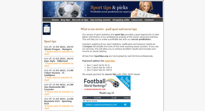 Access sporttips org  SPORT TIPS, sport picks, sport