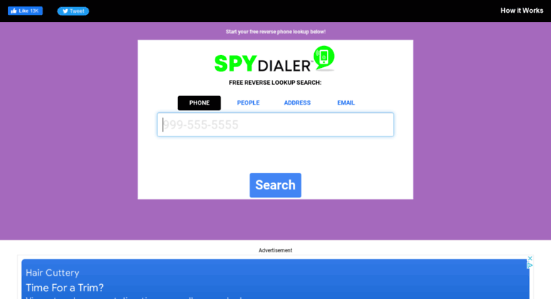 spy dialer called me
