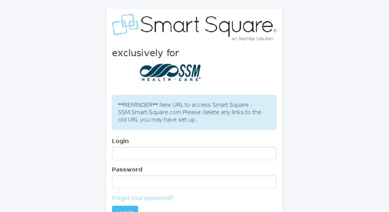 Access ssm smart-square com  Smart Square - Login