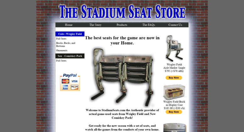 Prime Access Stadiumseats Com The Stadium Seat Store Historic Onthecornerstone Fun Painted Chair Ideas Images Onthecornerstoneorg