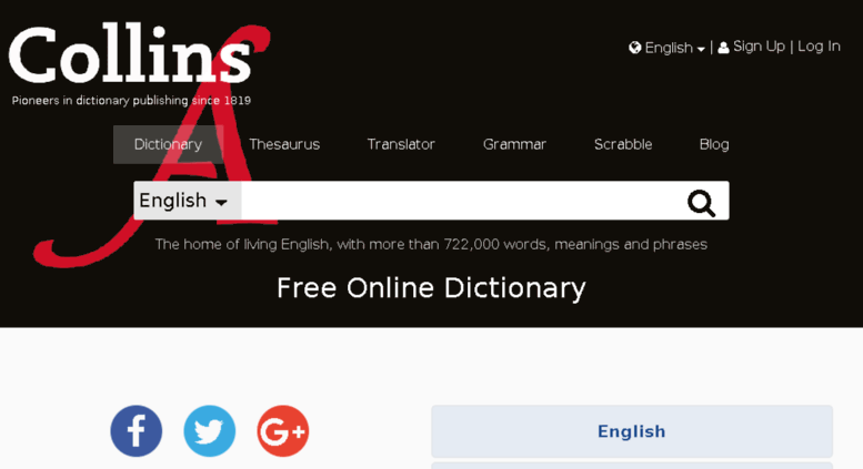 Access stage collinsdictionary com  Collins Dictionary