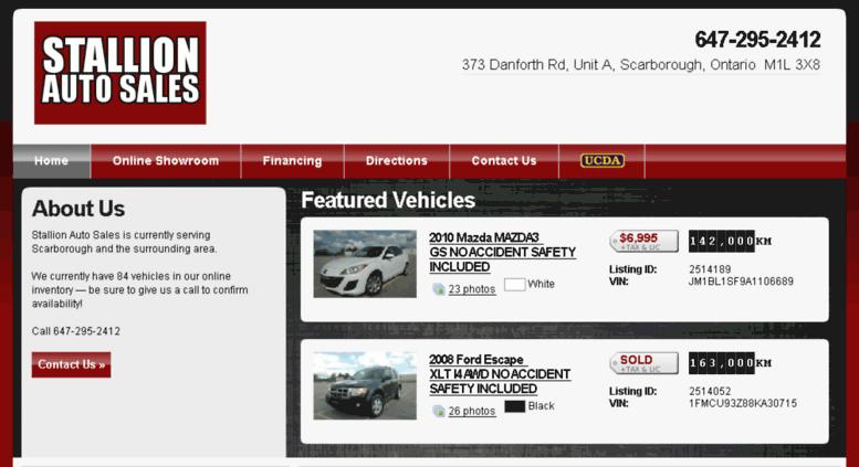 Stallion Auto Sales >> Access Stallionauto Carpages Ca Stallion Auto Sales