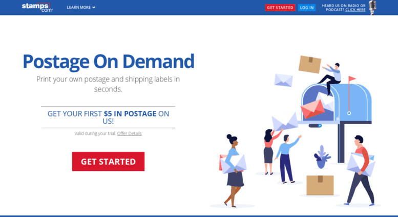 Access Stamp Com Stamps Com Buy Postage Online Print