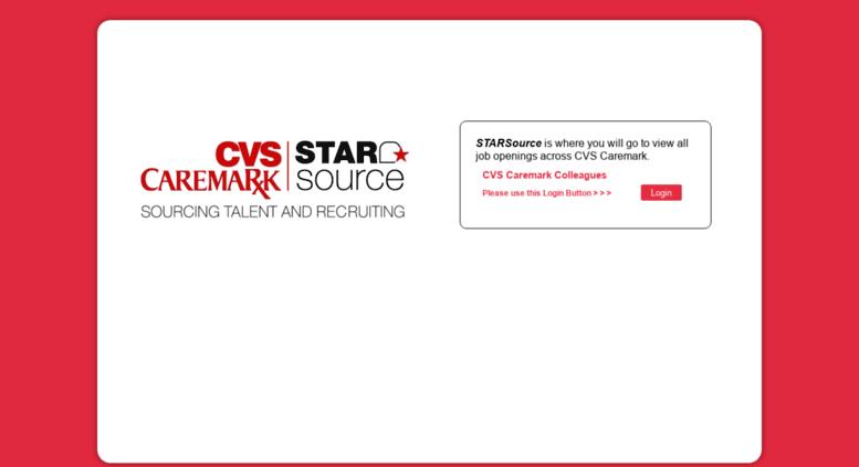 Access starsource cvscaremark com  Star Source Splash Page