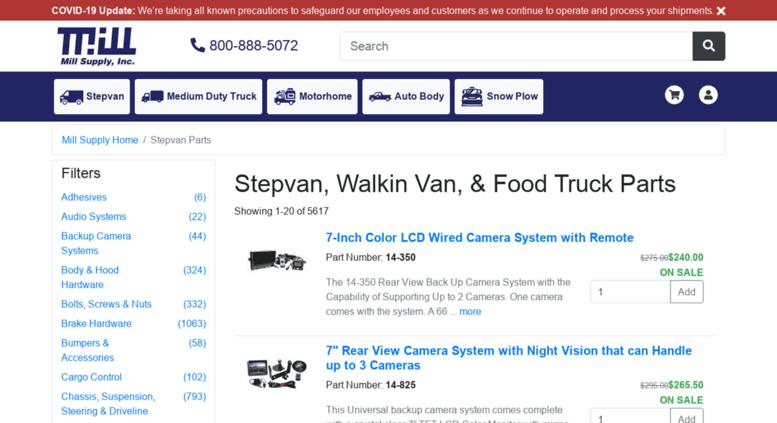 Access Stepvanpartscom Step Van Replacement Parts