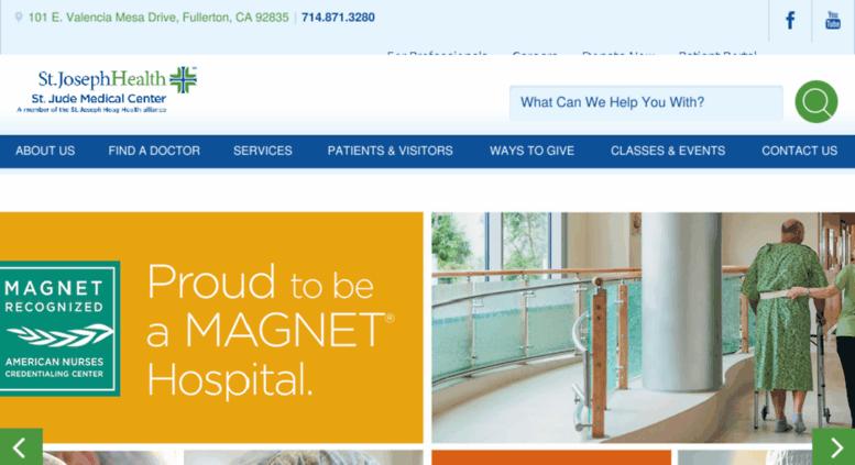 Find A Doctor At St Jude Medical Center Fullerton Ca Hospital >> Access Stjudemedicalcenter Com St Jude Medical Center Fullerton