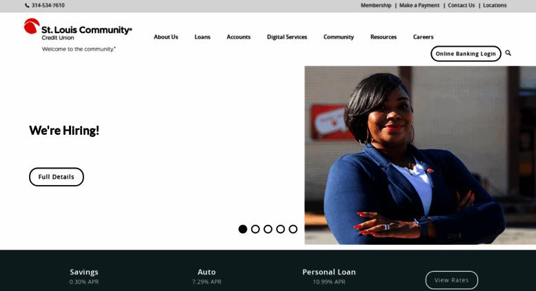 Access Stlouiscommunity Com Home St Louis Community Credit Union