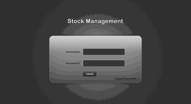 Access stockwd permuteit in  StockManagement : Login