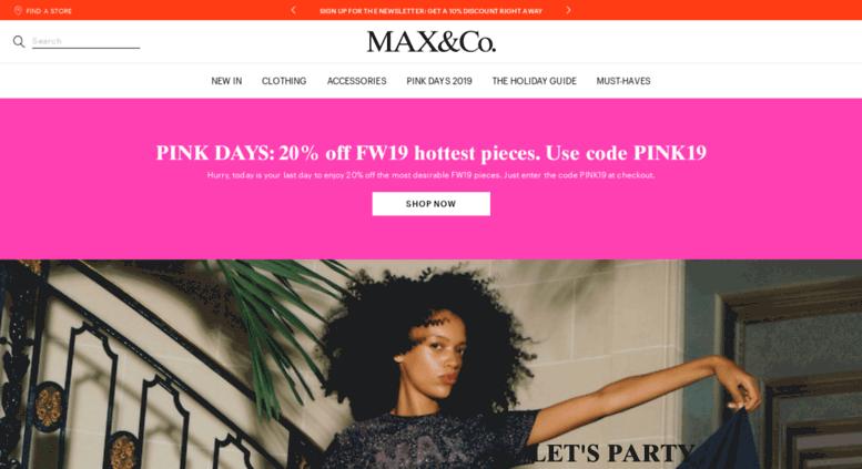0df576d69186 Access store-it.maxandco.com. MAX Co. Italia - Online Store ...