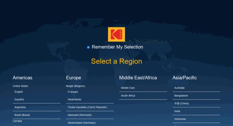 Access store kodak ca  Store choices   Kodak