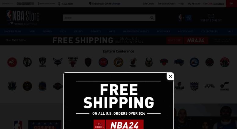 Access store.nba.com. NBA Gear at Store.NBA.com - The Official NBA ... e0fdd58f2
