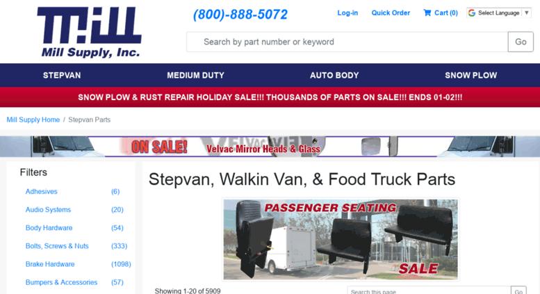 Access Storestepvanpartscom Stepvan Walkin Van Food Truck