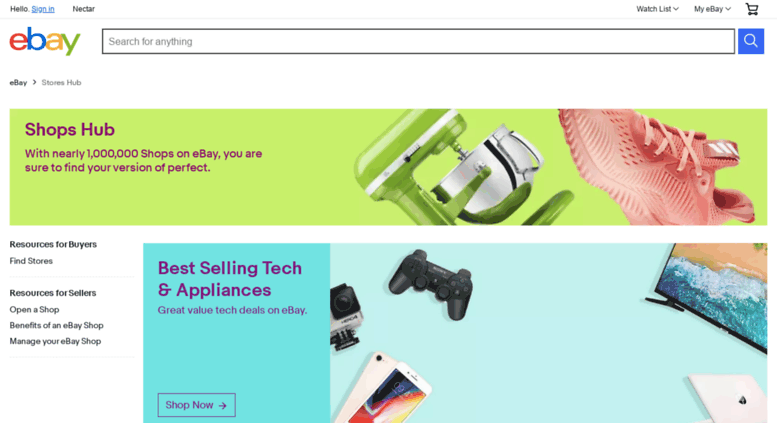 Access Stores Ebay Co Uk Stores Hub Products For Sale Ebay