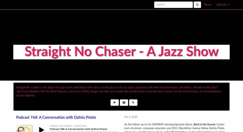 Access straightnochaserjazz libsyn com  Straight No Chaser - A Jazz Show