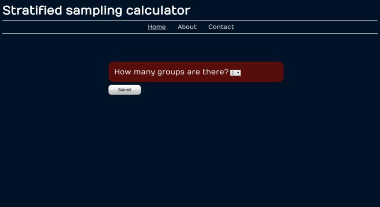 Access stratifiedsampling orgfree com  Stratified sampling | maths