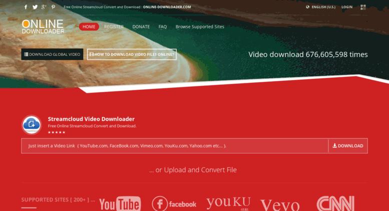 Access streamcloud online-downloader com  Streamcloud Video