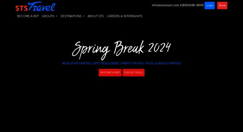 spring break trips 2020