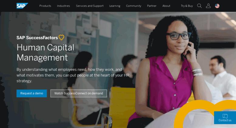 Access succesfactors com  SAP SuccessFactors HCM Software