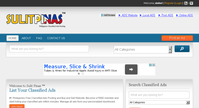 Access sulitpinas com  Welcome - Sulit Pinas ™ - Free Classified Ads