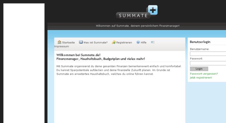Access Summate De Haushaltsbuch Summate De Finanzen Online