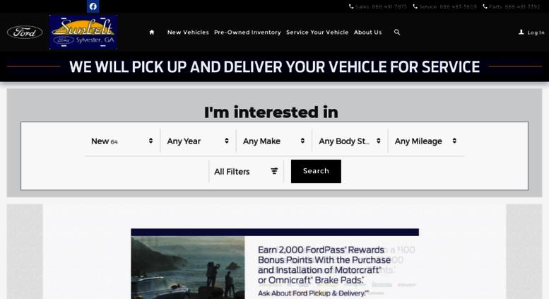 Ford Dealers In Ga >> Access Sunbeltford Dealerconnection Com Sunbelt Ford Ford