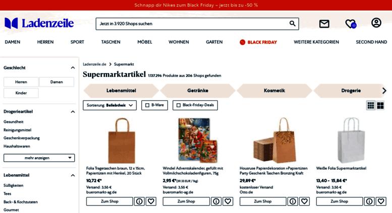 ed5e5e4429851b Access supermarkt.ladenzeile.de. Supermarktartikel günstig online ...