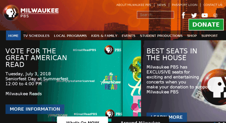 Access support mptv org  Milwaukee PBS