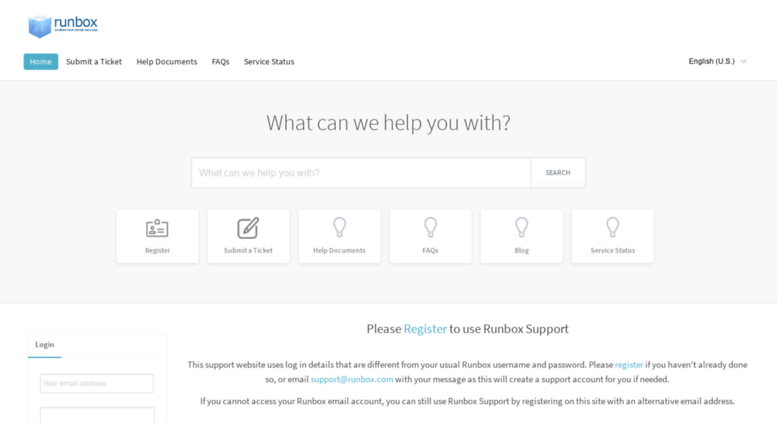 Access support runbox com  Runbox Solutions AS - Powered by