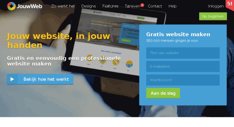 access surf.kshorttogruz.jouwweb.nl. gratis eigen website maken