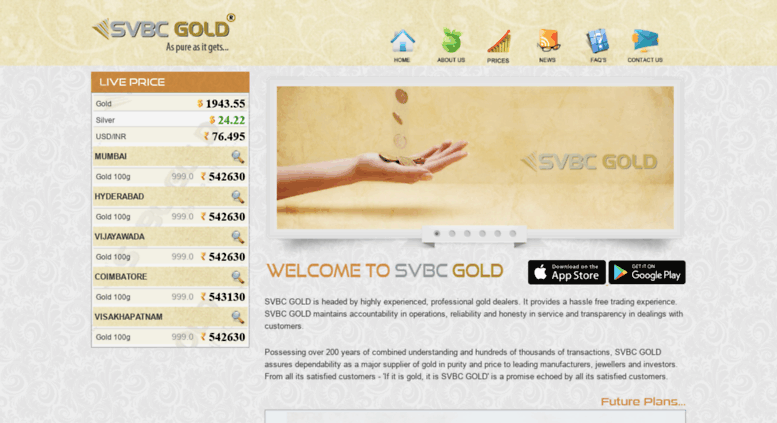 Svbc Gold Rate June 2020
