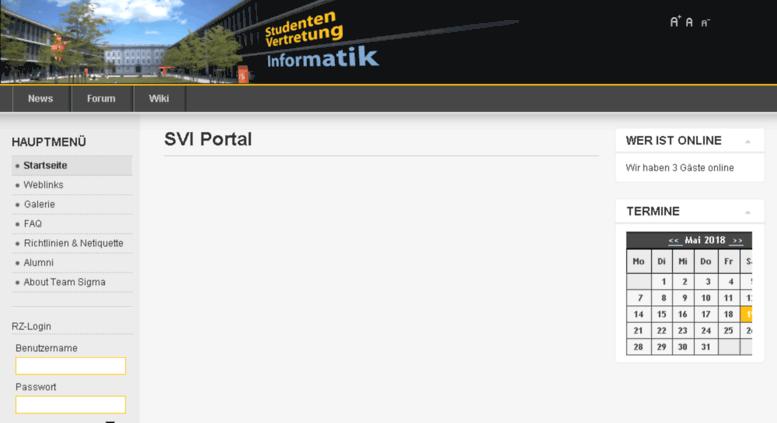Access Svi Hs Augsburg De Svi Portal