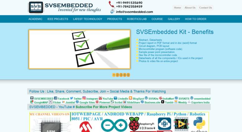 Access svsembedded com  Latest Electronics Projects Ideas