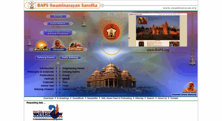 Access Swaminarayan Com B A P S Swaminarayan Sanstha