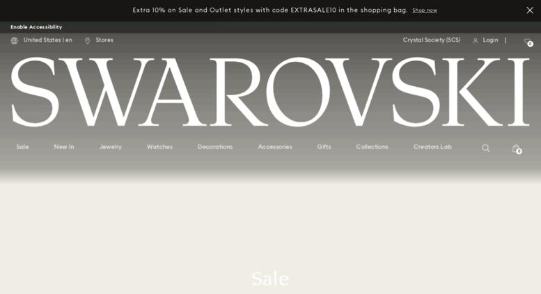 Access . Swarovski Crystal Jewelry, Accessories