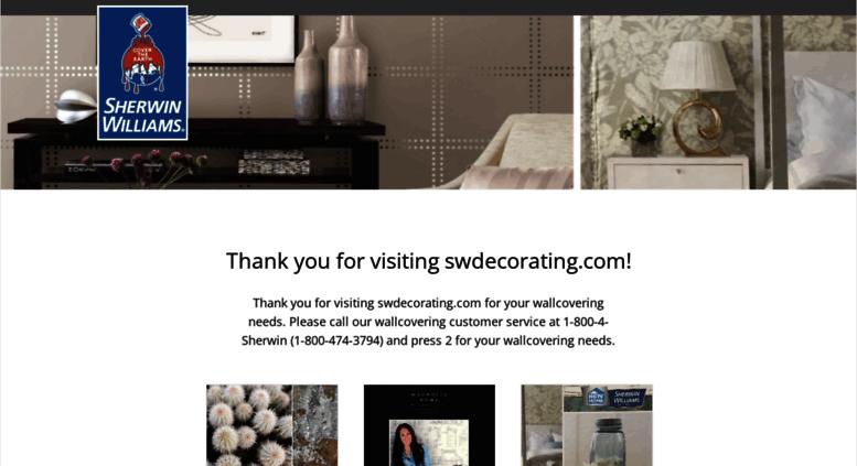 swdecorating.com screenshot