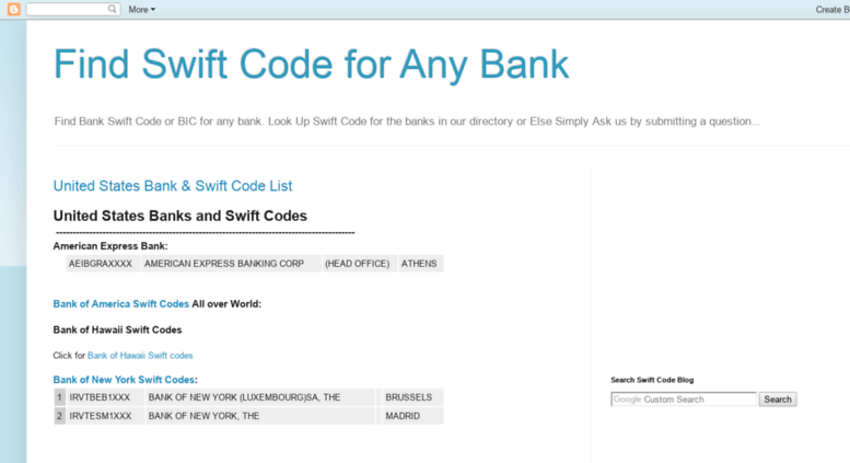 Swift Codes Blo Screenshot