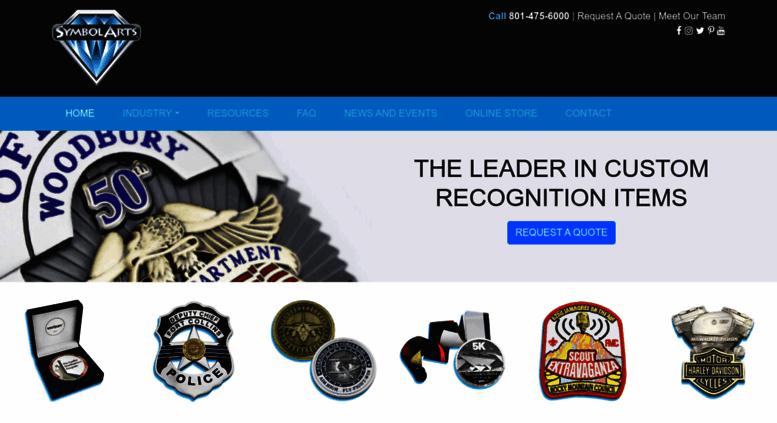 Access symbolarts com  Custom Police Badges | Challenge